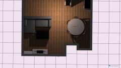 Raumgestaltung Wohnz+Küche222 in der Kategorie Esszimmer