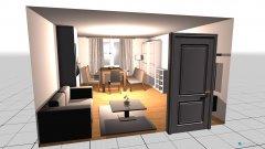 Raumgestaltung wohnzimmer 2.5 in der Kategorie Esszimmer
