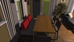 Raumgestaltung Wohnzimmer 2 in der Kategorie Esszimmer
