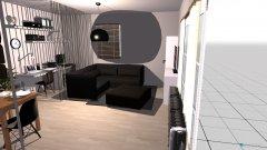 Raumgestaltung Wohnzimmer 3.1 in der Kategorie Esszimmer