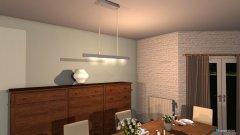 Raumgestaltung Wohnzimmer modern  in der Kategorie Esszimmer