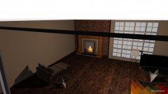 Raumgestaltung Wohnzimmer in der Kategorie Esszimmer