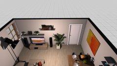 Raumgestaltung Wohnzimmer_Esszimmer in der Kategorie Esszimmer