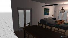 Raumgestaltung Wohnzimmerideen in der Kategorie Esszimmer