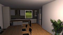 Raumgestaltung wohnzimmerkueche in der Kategorie Esszimmer