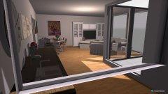 Raumgestaltung Wohnzimmmer in der Kategorie Esszimmer