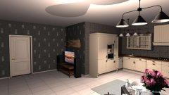 Raumgestaltung wonzimmer in der Kategorie Esszimmer