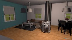 Raumgestaltung Wozi in der Kategorie Esszimmer