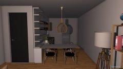 Raumgestaltung zu hause in der Kategorie Esszimmer