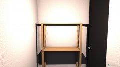 Raumgestaltung Abstellkammer in der Kategorie Flur