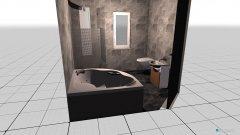 Raumgestaltung bad 2 in der Kategorie Flur