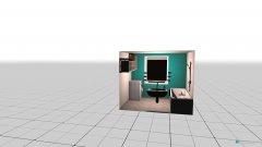 Raumgestaltung Bad in der Kategorie Flur