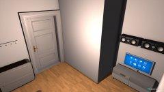 Raumgestaltung chill room in der Kategorie Flur