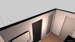 Raumgestaltung diele in der Kategorie Flur