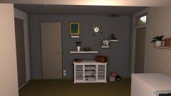 Raumgestaltung Eingang Kita 7 in der Kategorie Flur