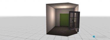 Raumgestaltung Eingangsbereich in der Kategorie Flur