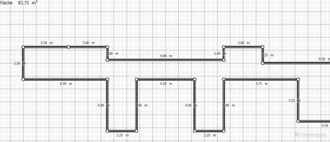 Raumgestaltung Erdgeschoss in der Kategorie Flur