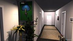 Raumgestaltung Flur 2.1 in der Kategorie Flur