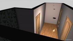Raumgestaltung Flur groß in der Kategorie Flur