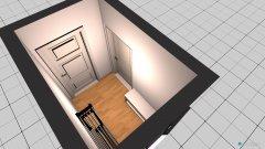 Raumgestaltung Flur-Wohnungstür in der Kategorie Flur