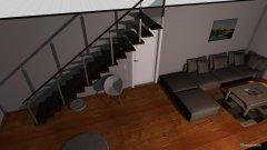 Raumgestaltung Flur Wohnzimmer Küche in der Kategorie Flur