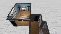 Raumgestaltung Flur Wohnzimmer in der Kategorie Flur