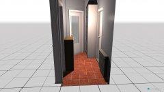 Raumgestaltung Flur_1 in der Kategorie Flur