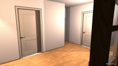 Raumgestaltung FlurWohnzimmer in der Kategorie Flur