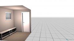 Raumgestaltung Garderobe in der Kategorie Flur