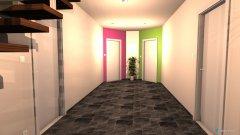 Raumgestaltung Haus - Raum 1 - Flur in der Kategorie Flur