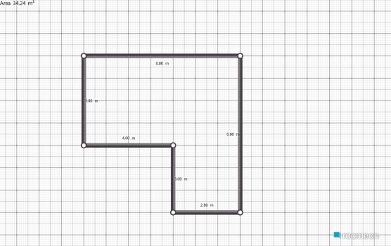 Raumgestaltung Kamer in der Kategorie Flur
