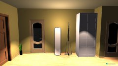 Raumgestaltung koridor in der Kategorie Flur