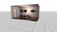 Raumgestaltung Lounge Balkon  in der Kategorie Flur