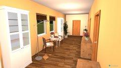 Raumgestaltung Lounge  Wohnflur in der Kategorie Flur