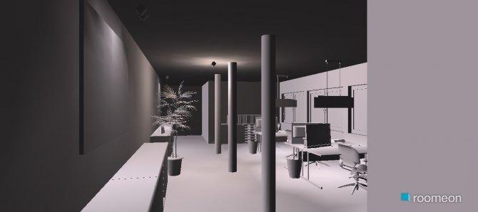 Raumgestaltung Mein Büro in der Kategorie Flur