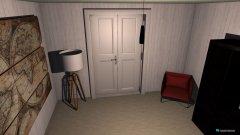 Raumgestaltung moderner Eingangsbereich in der Kategorie Flur