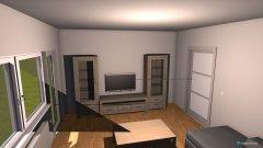 Raumgestaltung neu wohnzimmer in der Kategorie Flur