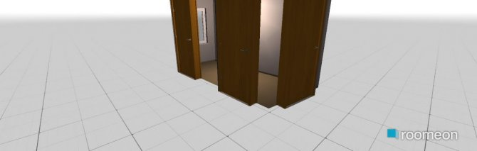 Raumgestaltung neue Bude in der Kategorie Flur
