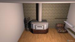 Raumgestaltung Ofen  in der Kategorie Flur