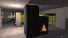 Raumgestaltung ohne Schlafzimmer 1 in der Kategorie Flur