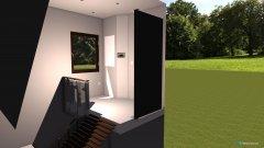 Raumgestaltung Treppenaufgang in der Kategorie Flur