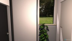 Raumgestaltung Vorhaus OG in der Kategorie Flur