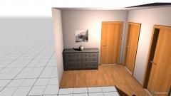 Raumgestaltung Vorraum 2 in der Kategorie Flur