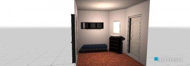 Raumgestaltung Vorraum in der Kategorie Flur
