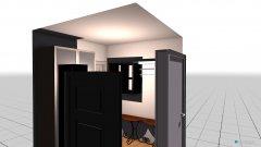 Raumgestaltung VORZIMMER 5 m²  in der Kategorie Flur