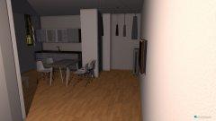 Raumgestaltung Wohnung Rosso original in der Kategorie Flur