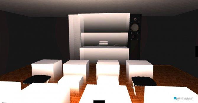 Raumgestaltung wohnzimmer in der Kategorie Flur