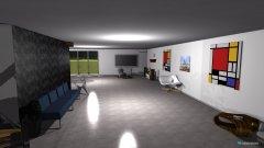 Raumgestaltung 1 Zimmer Loft in der Kategorie Foyer