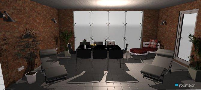 Raumgestaltung aussenbereich in der Kategorie Foyer