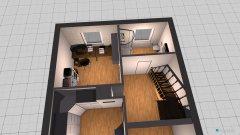 Raumgestaltung ELLERNWEG - Obergeschoss in der Kategorie Foyer